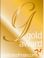 Gold award fro Ballacallin self catering holiday cottages
