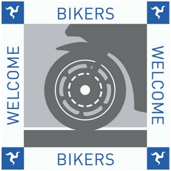 Welcome bikers at Ballacallin Court